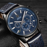 Reloj Hombre 2017 BENYAR Fashion Chronograph Sport Mens Watches Top Brand Luxury Military Quartz Watch Clock