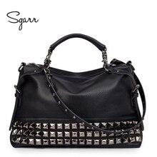 SGARR, роскошная кожаная женская сумка на плечо, брендовые дизайнерские кожаные сумки, кожаная сумка через плечо, знаменитая большая женская сумка-тоут, сумки-мессенджеры