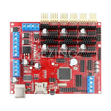 Brand RepRap Megatronics V2.0 3D Printer Motherboard Main Control Panel Driver Board