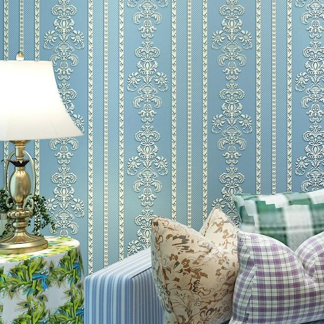 papier peint d papel tapiz para paredes rollo de papel dormitorio del papel rayado panel de