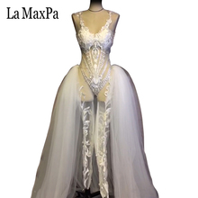 new style sexy women stage costume for singer female singer dj ds stage evening dress performance clothe nightclub custom made