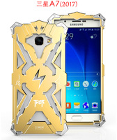 Luxury Simon Thor Case For Samsung Galaxy A7 2017 Cases Cover Aluminum Metal Frame Case For