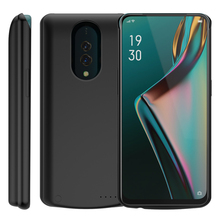 For Oppo K3 Battery Charger Case 6500Ah Extended Backup Power Bank Protective Cover Shockproof