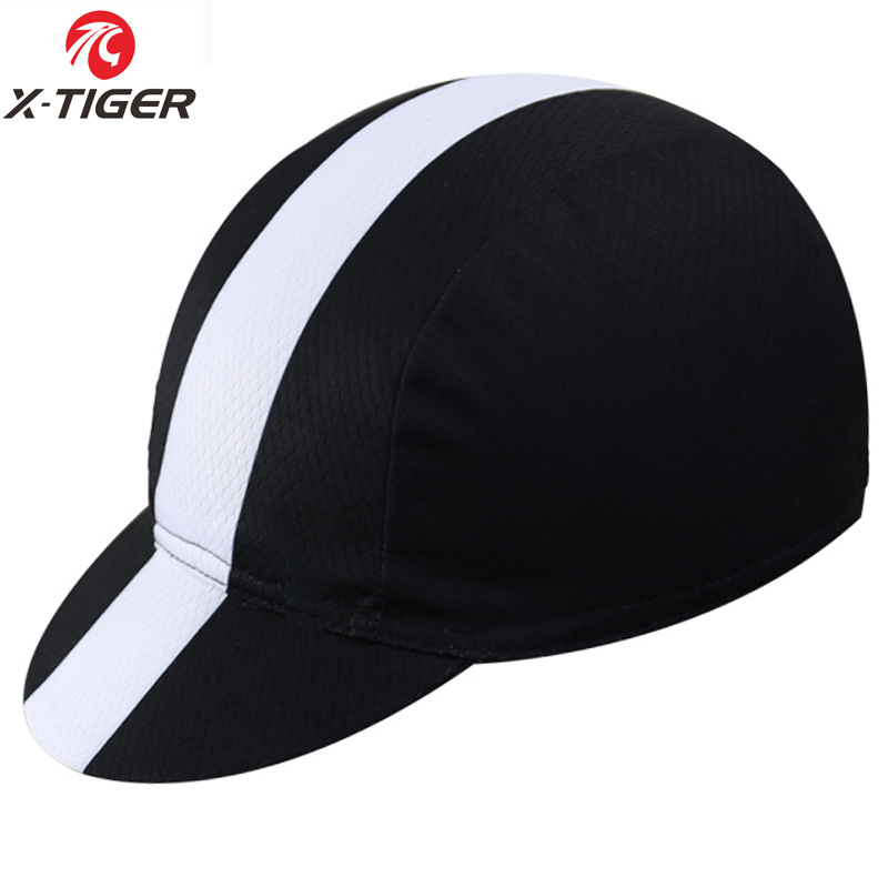 X-TIGER Classic 11 Colors Cycling Cap Bike Hat Ciclismo Bicicleta Pirate Headband Cycling Cap Bicycle Helmet Wear Cycling Hat