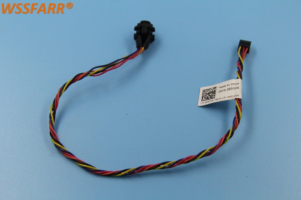 US $15 8 |FOR DELL OPTIPLEX 390 MINI TOWER POWER SWITCH LED CABLE 085DX6  85DX6-in Computer Cables & Connectors from Computer & Office on