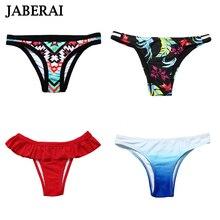 JABERAI, бикини, низ,, для женщин, Одноцветный, бразильский, бикини, низ, цветочный принт, для плавания, бикини, трусы, одежда для плавания, трусики, Parte De Abajo
