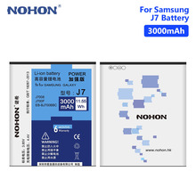 Get more info on the NOHON EB-BJ700CBE Phone Battery 3.85V 3000mAh For Samsung Galaxy J7 SM-J700 SM-J7000 SM-J7008 SM-J7009 SM-J700M SM-J700P