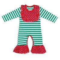 Vintage Floral Newborn Baby Romper Baby Girl Long Sleeve Jumpsuit Christmas Infant Sleeper Pajama Dusty Pink