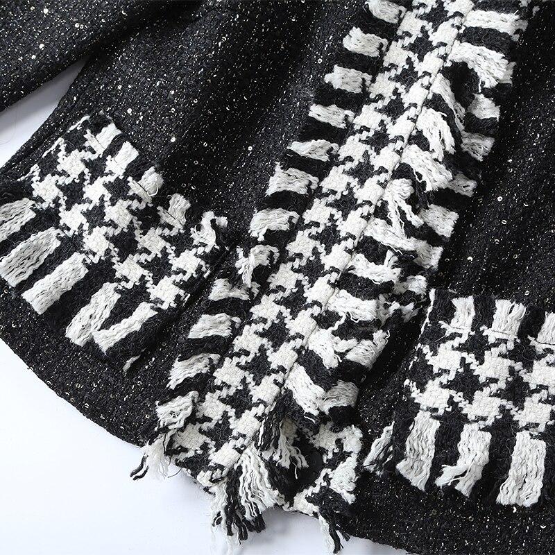 Glands D'hiver Top Mode Genou Automne De Ensembles Pleine Pièce 2018 Du Jupe cou Costume Dernière Manches Europe Élégante 2 Slim O Dessus qI6wIC1Z
