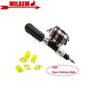 Image 1 - 1pc Archery Fishing Reel Bowfishing Slide Stabilizer Outdoor Sports Shooting Hunting Fishing Bow And Arrow Accessories