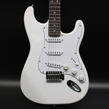 High Quality 8 Inch White Custom Electric Guitar