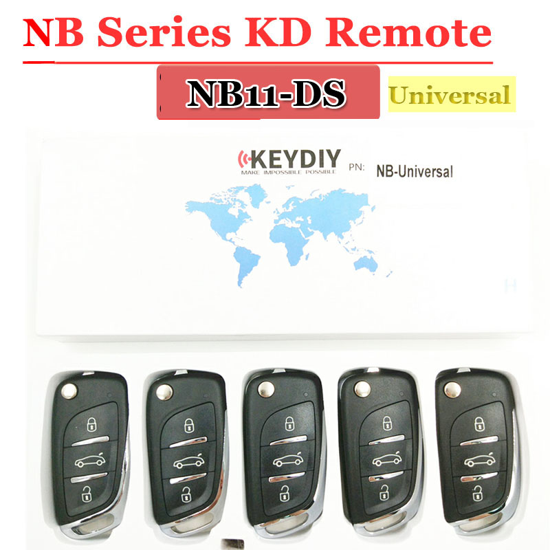 Discouted 5pcs lot KD900 Remote key Universal NB11 DS Remote Key For keydiy KD900 KD900 URG200