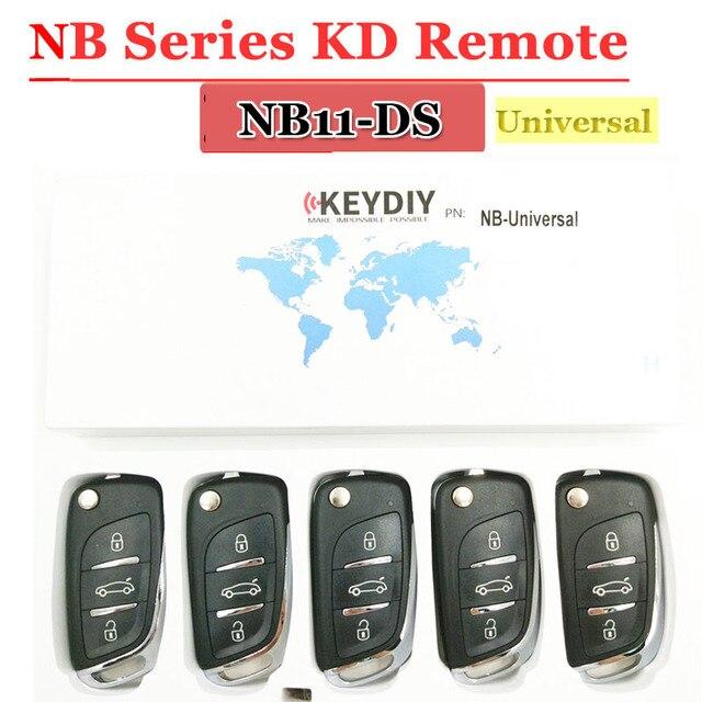 Discouted (5ชิ้น/ล็อต) KD900กุญแจรีโมทสากลNB11 DSกุญแจรีโมทสำหรับkeydiy KD900 KD900 + URG200มินิKDการควบคุมระยะไกล