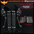 7 cores completa titanium cnc alavancas de freio de embreagem da motocicleta & apertos de mão do guidão para triumph tiger 800/xc xcx/xr/xrx 2015 2016