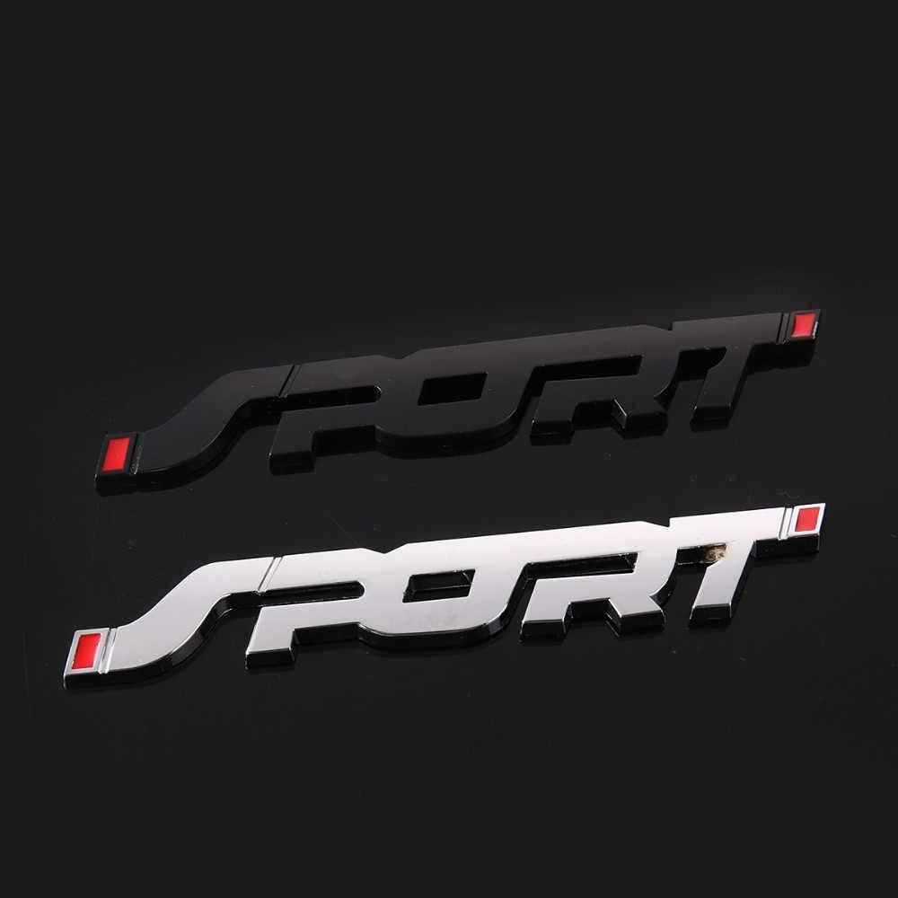 3d metal tronco do carro de corrida esporte emblema emblema adesivo decalque para suzuki swift grand vitara sx4 vitara spoiler alto liana respingo