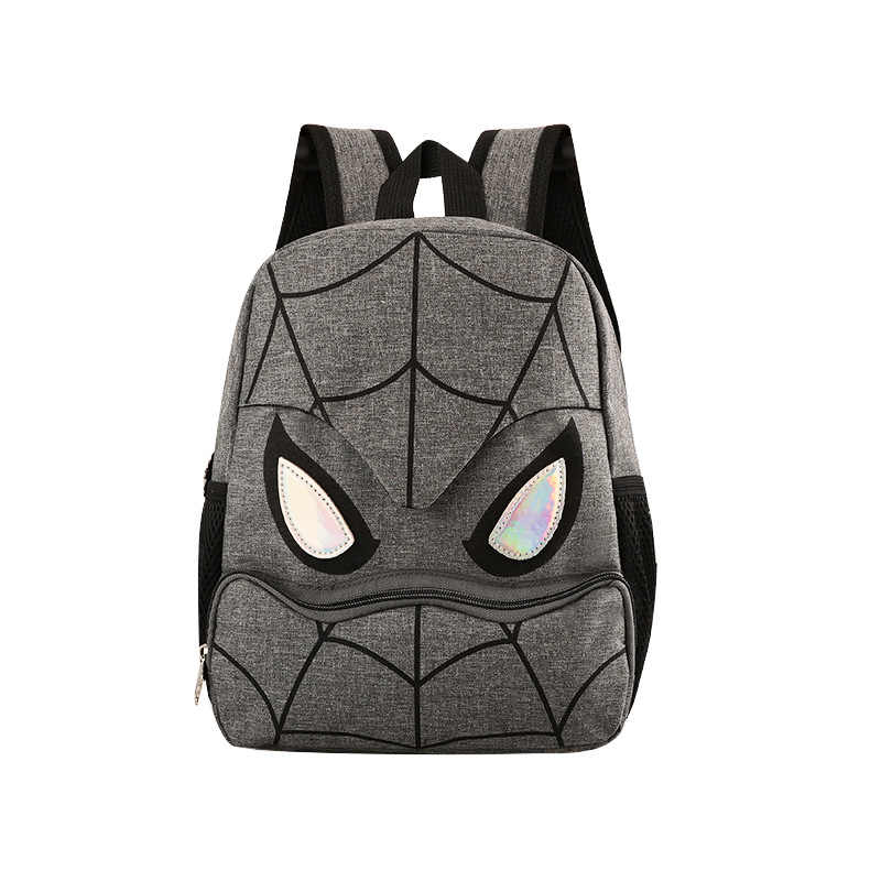 Disney 2019 new kindergarten boy bag Spiderman children lovely backpack boy bag for school