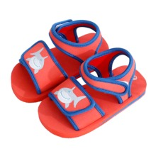 Buy Cartoon Kids Sandals Boy Summer Beach Toddler Shoes Hook Loop Comfortable Barefoot Sandals For Baby Shark Butterfly Girls Sandal directly from merchant!
