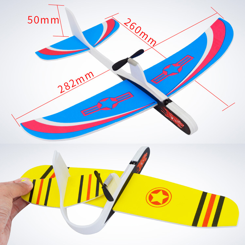 2018 New Design Hand Throwing Airplane Free flying Fix Wing
