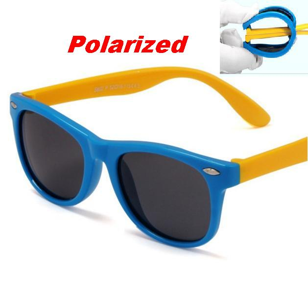 CHUN M34 TR90 Flexible Kids Sunglasses Polarized Child Baby Safety Coating Sun Glasses UV400 Eyewear Shades Infant oculos de sol