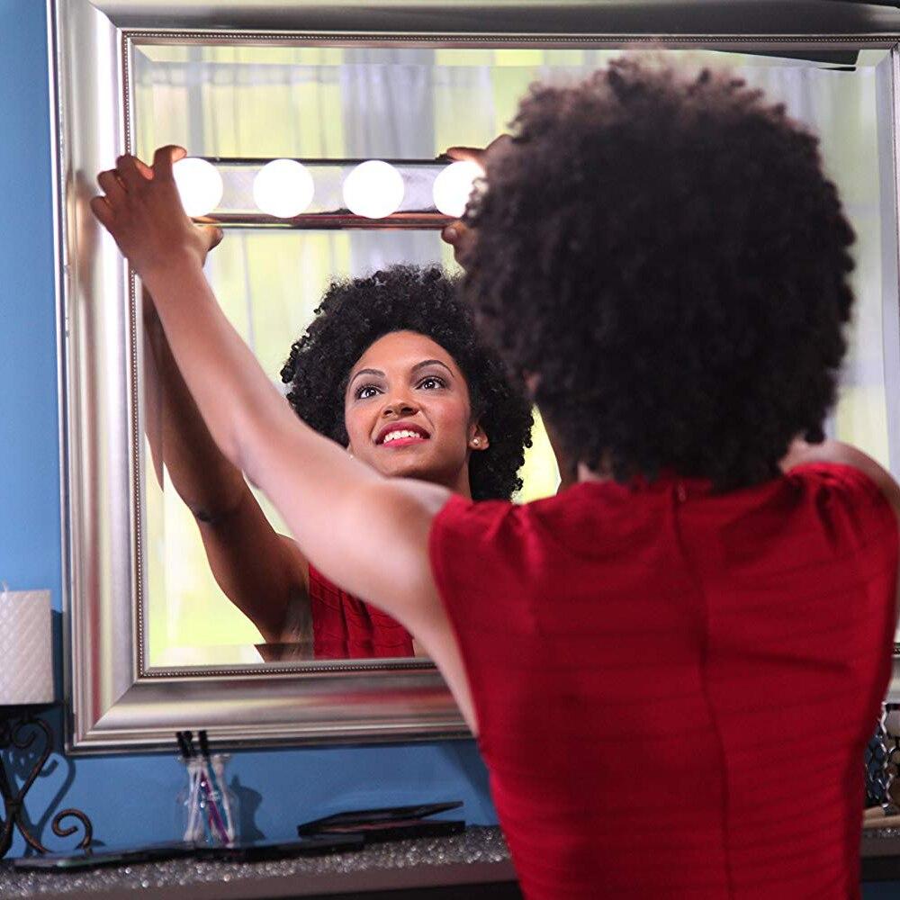 LED Mirror Light Hollywood Four Bulb Mirror Headli...