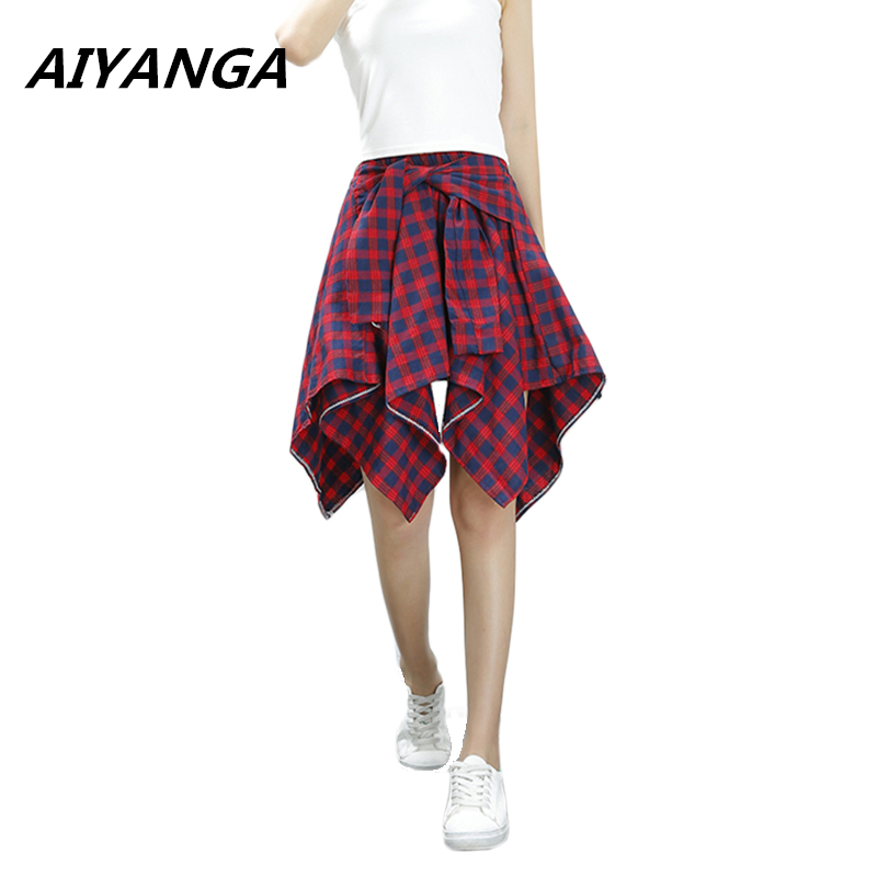 Compare Prices on Womens Red Plaid Skirt- Online Shopping/Buy Low ...