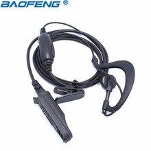 Baofeng UV-9R BF-9700 BF-A58 Водонепроницаемый иди и болтай Walkie Talkie гарнитура микрофон, динамик для двусторонней радиосвязи Горячая аксессуары Baofeng