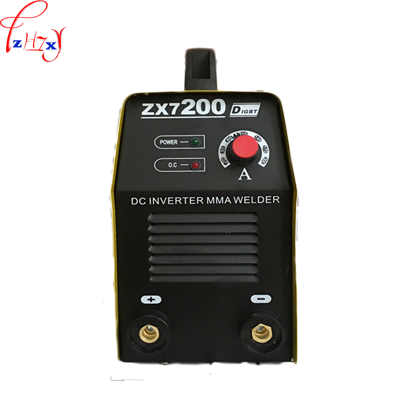 Small household manual welding machine ZX7-200 portable DC inverter MMA welder machine 220V inverter electric welder circuit board general money welding machine 200 drive board