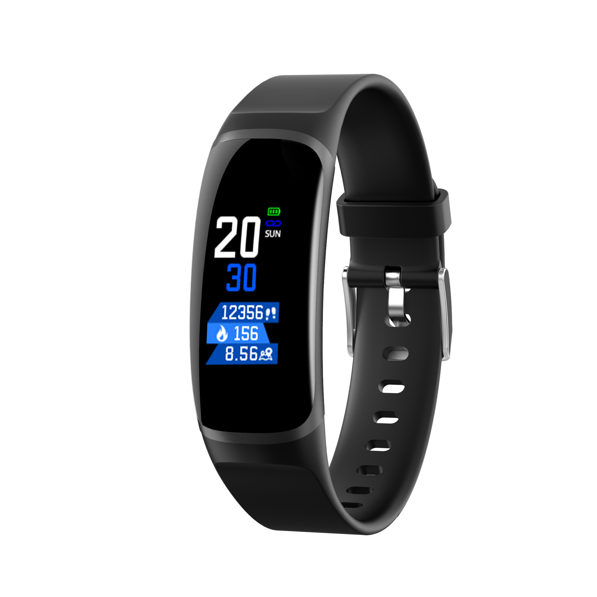 Flanagan MK04 Smart Bracelet Color Screen Blood Pressure Fitness Tracker Heart Rate Monitor Smart Band Sport For Android IOSFlanagan MK04 Smart Bracelet Color Screen Blood Pressure Fitness Tracker Heart Rate Monitor Smart Band Sport For Android IOS