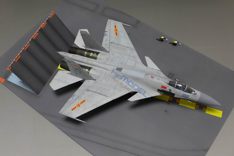 1/72 01670 Chinese J-15 with Flight Deck Aircraft Model Unassembled Kits flight fgus 15