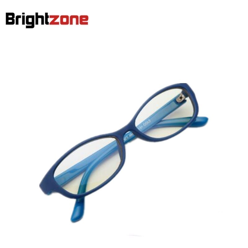 2018 Jauni bērni Anti-Blue Rays Bloķēšanas filtrs Samazina digitālo acu spriedzi Skaidri bērni Datoru Eyewear Iekštelpu spēļu brilles