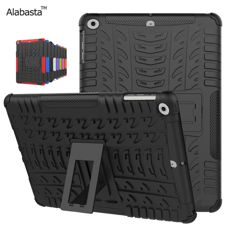 Case for New iPad 9.7 inch 2017 Heavy Duty 3 in 1 Hybrid Rugged Durable Case Shockproof For New iPad 2017 model A1822 Alabasta for amazon 2017 new kindle fire hd 8 armor shockproof hybrid heavy duty protective stand cover case for kindle fire hd8 2017