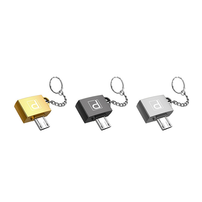 Micro USB To USB 2.0 Female Converter Adapter Smart USB Adapter Connection Kit For Smartphone Mobile Phone Accessories