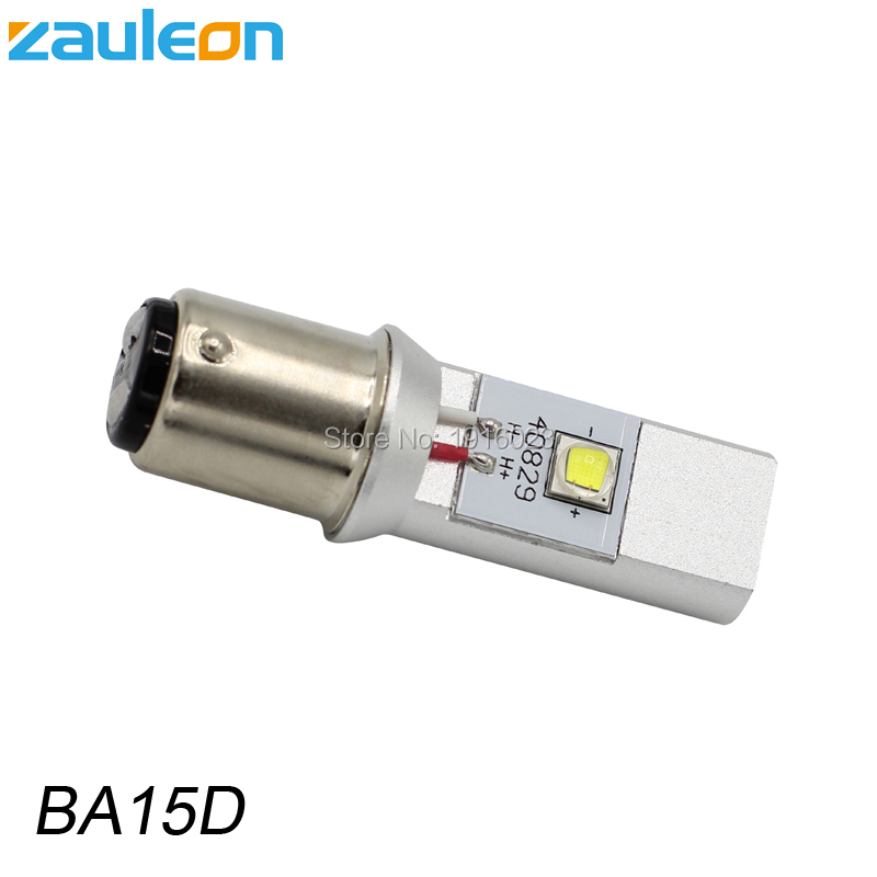 Zauleon 1pcs 1157 BA15D LED Motorcycle Headlight Bulb DC 6V 12V 930LM Motorbike head font b