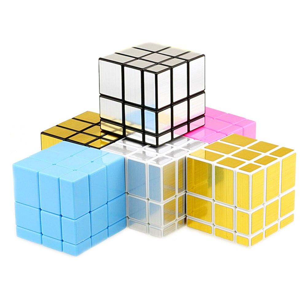 Shengshou Mirror Blocks Cast Coated 3x3x3 font b Magic b font font b Cube b font