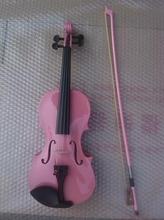 High quality PINK color font b violin b font 1 4 font b violin b font