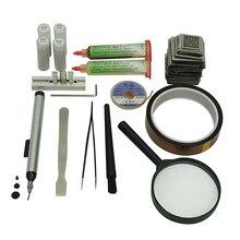 цена на 219pcs Directly Heated BGA Stencil BGA reballing kit  BGA Stencil Universal BGA Reballing Station