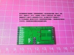 Image 2 - 16A batterie BMS carte de Protection avec équilibrage 3s 4s 5s Packs Li ion batterie au lithium