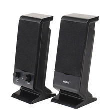 SADA USB Powered 3.5mm Audio Speakers,Wired Laptop Speakers 2.0 Channel Mini Portable Computer Speakers for PC Home Office