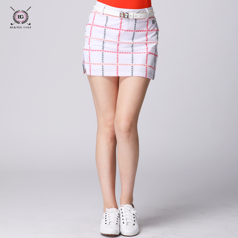 Brand golf skirts lady sports clothes women short skirt golf culottes elastic plaid skirt 3 colors navy blue dabuwawa autumn women fashion sexy plaid skirt elegant mini pleated skirt short streetwear asymmetrical skirt d17csk031 page 1
