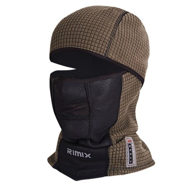 Winter Warm Face Mask Cap Thermal Fleece Ski Mask Face Snowboard Shield Hat  Cold Headwear Cycling Face Mask New 237195fb24c