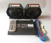 Высокая мощность AS940 400 Вт Dual tone беспроводной автомобиля сирена усилители Вызов скорой помощи с дистанционным микрофоном + 2 единицы 200 динам