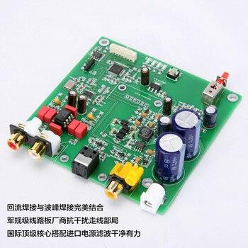 ES9038 Q2M I2S DSD Fiber Coaxial Input Decoder DAC High Matching Product Board