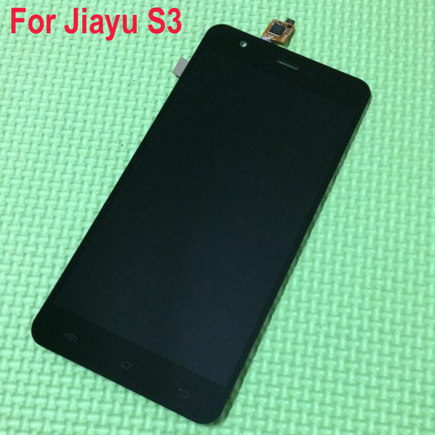 ФОТО Black white TOP Quality JY-S3 Full LCD Display Panel Touch Screen Digitizer Assembly For JIAYU S3 Phone Replacement Spare Parts