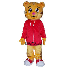 Sell Like Hot Cakes Daniel Tiger Mascot Costume Daniel Tiger Fur Mascot Costumes