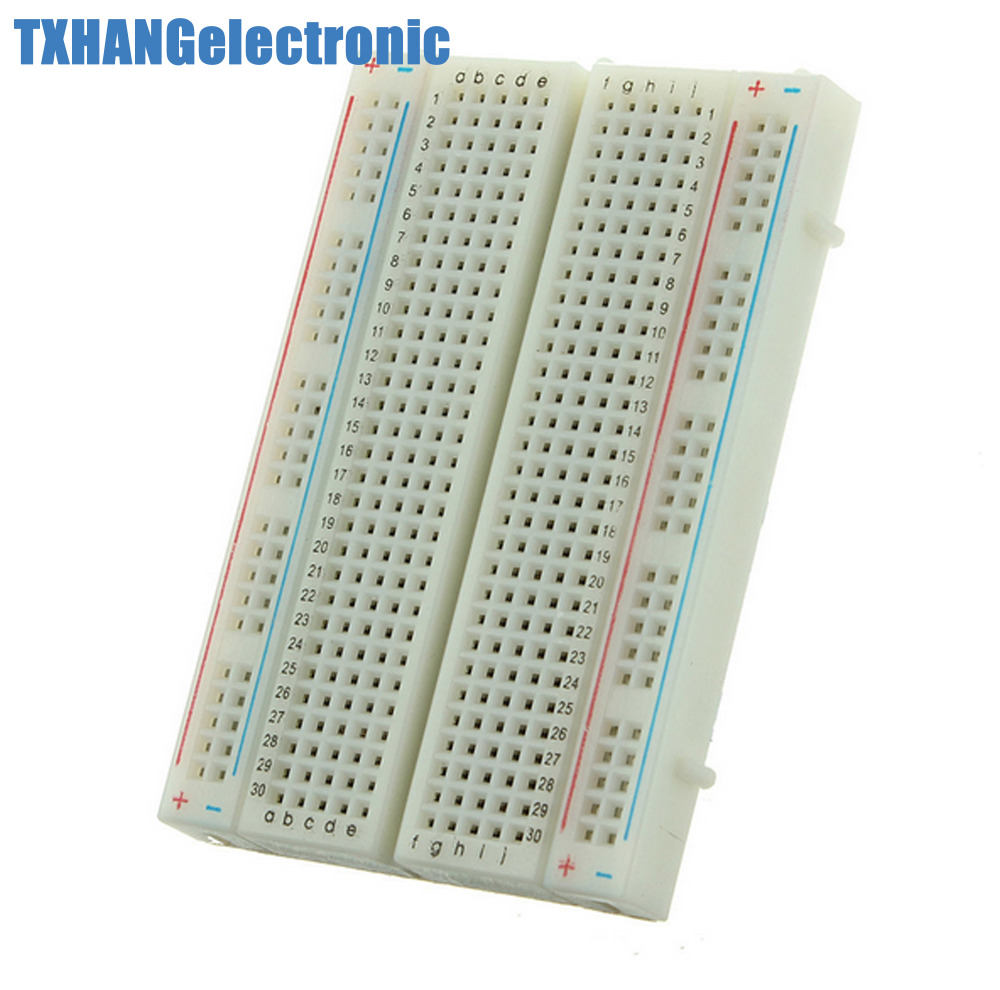 Mini Universal Solderless Breadboard 400 Contacts Tie-points Available AL