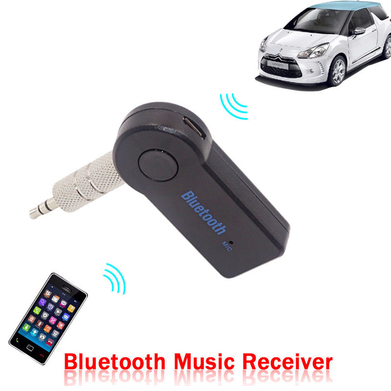 Aliexpress.com : Buy Ssdfly Bluetooth Car Handsfree Music Receiver 3.5mm Universal Adapter AUX