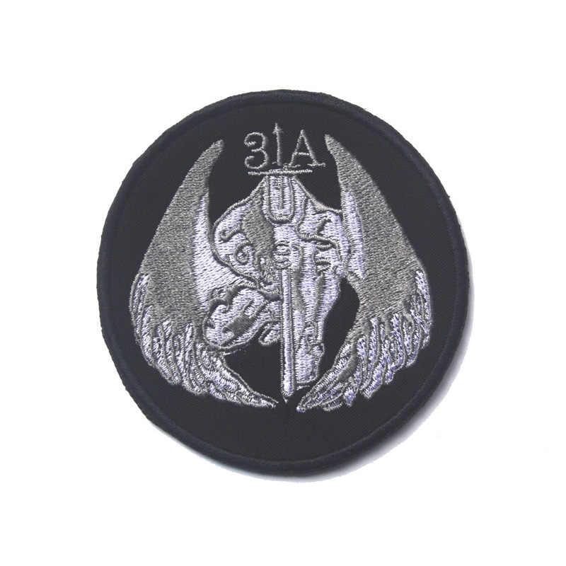 Темный ангел Тактический Мораль патч Люцифер Военная Униформа армейские плечо грудь повязки Знак Костюмы патч для Куртки Джинсы для женщин рюкзак