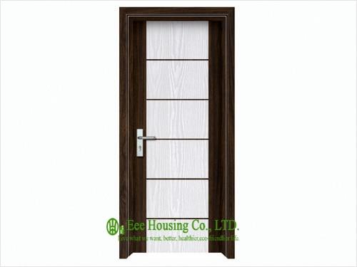 Modern Interior Swing PVC Door-in Doors from Home Improvement on ...