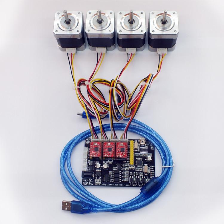 DIY V5 Laser Machine De Gravure Carte Mère Carte Système De Contrôle CNC Conseil pour Laser Marquage Écriture Robot