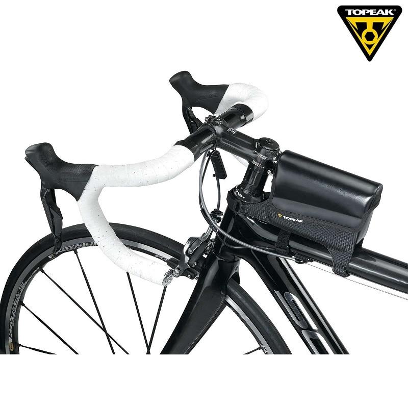 Topeak TT9815B TriDrybag Bicycle Waterproof Top Tube Bag Cycling Stem Pannier Road Bike Triathlon Purse MTB